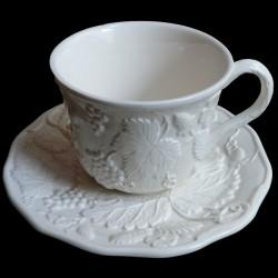"""Taza desayuno blanco roto """"George Sand"""""""