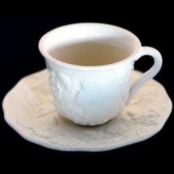 """Taza de té blanco roto """"George Sand"""""""