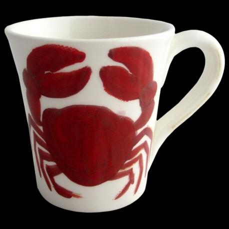 Crabe Mug H 11cm
