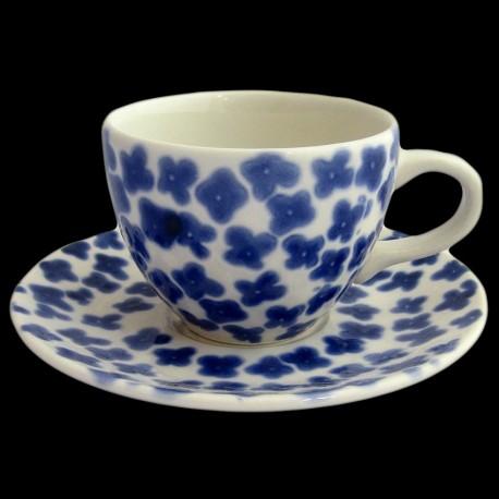 Tasse à thé collection BlueFlowers
