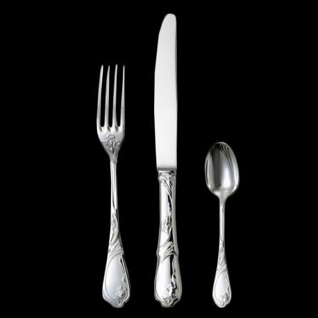 Couteau de table Tulipe métal argenté
