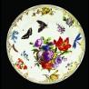 """Assiette en tôle """"Musées"""" Papillons"""
