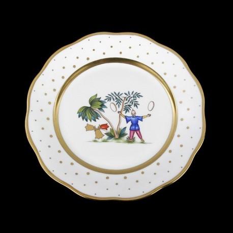 Classical plate of 26cm diameter