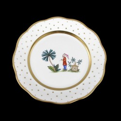 Classical plate of 26cm diameter/ character 3
