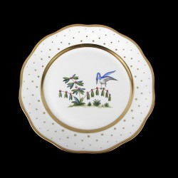Classical plate of 26cm diameter/ bird 5