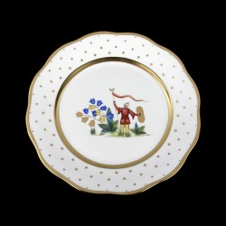 Soup plate of 25,5cm diameter/ character 3