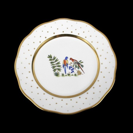 Soup plate of 25,5cm diameter/ bird 4