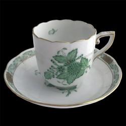 Tasse et sous tasse café Apponyi