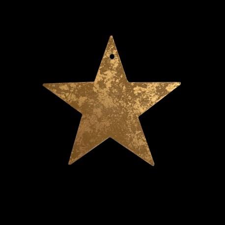 Petite étoile Dorée Au Bain Marie