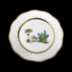 Salad plate of 21cm diameter/ bird 1