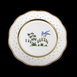 Assiettes à salade de 21cm de diametre/ oiseau 5