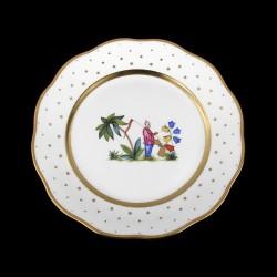 Assiettes à salade de 21cm de diametre/ personnage 2