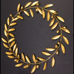 Gilted olive wreath