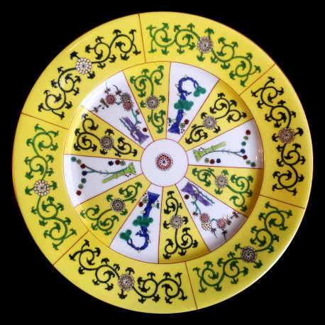 Dessert plate 18.5cm SJ Herend