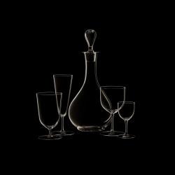 Flûte à champagne cristal collection n°4
