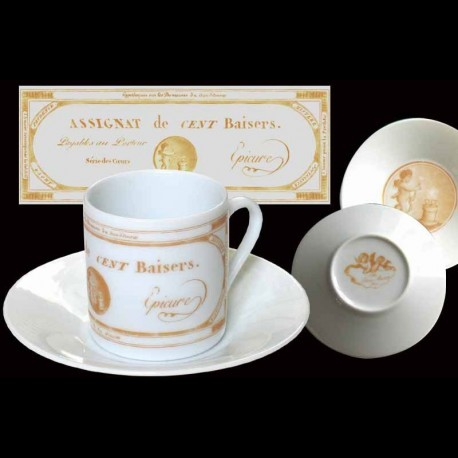 coffee cup and saucer assignat au bain marie. Black Bedroom Furniture Sets. Home Design Ideas