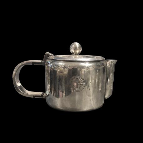 Théière Christofle CGT métal argenté h:9cm
