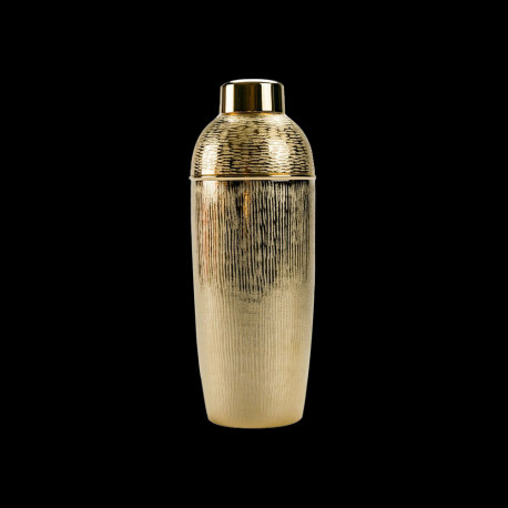 Gold Alloy Hand-Hammered Shaker