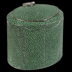 English shagreen Tea Caddy, Georges III style