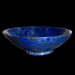 Large bowl in Lapis Lazuli