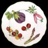 Limoges porcelain dinner plate vegetables