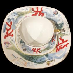 Service de table porcelaine Dali N° 520