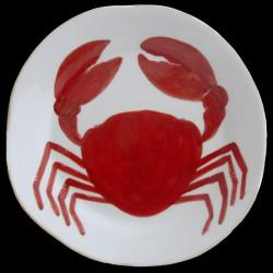 Crabe Assiette de table D 28cm