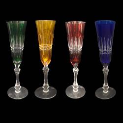 Cut Crystal Champagne flute