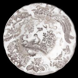 Royal Crown Derby Aves Platinum Soup plate