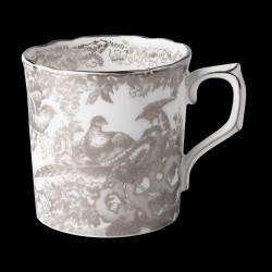 Royal Crown Derby Aves Platinum Coffee cup
