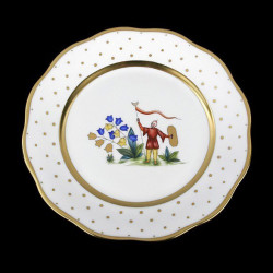 Herend FODO Ring Game - Salad plate D 21 cm
