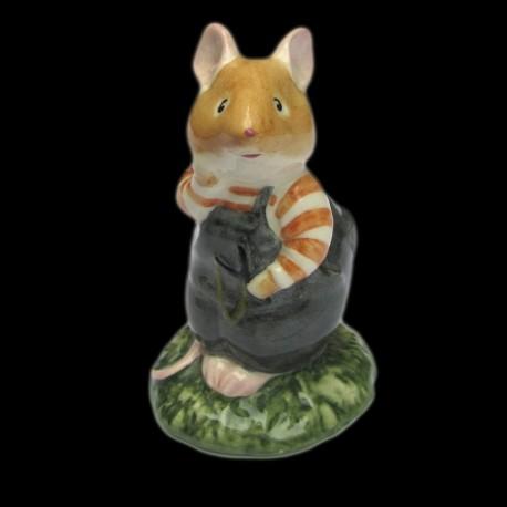 """Beatrix Potter Souris se tenant la joue """"Wilfred Toadflax"""" 8,5 cm"""