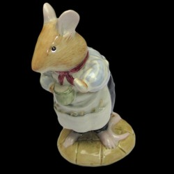 "Beatrix Potter Souris avec tasse ""Mr Apple"" 9 cm"