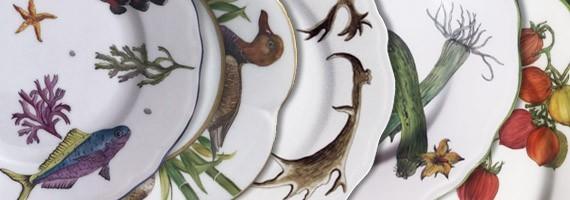 Porcelaine Limoges peinte main