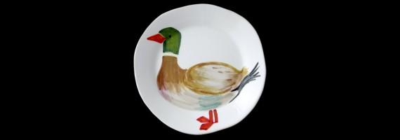 Настольная тарелка