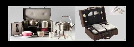 Voyages, valises à thé