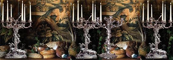 Candelabra, candlestick