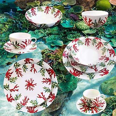 Collection porcelaine Corail